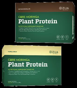 zija plant protein soy-free, gluten-free, vegan shake mix