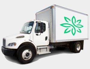 Zija repeat order customer delivery truck