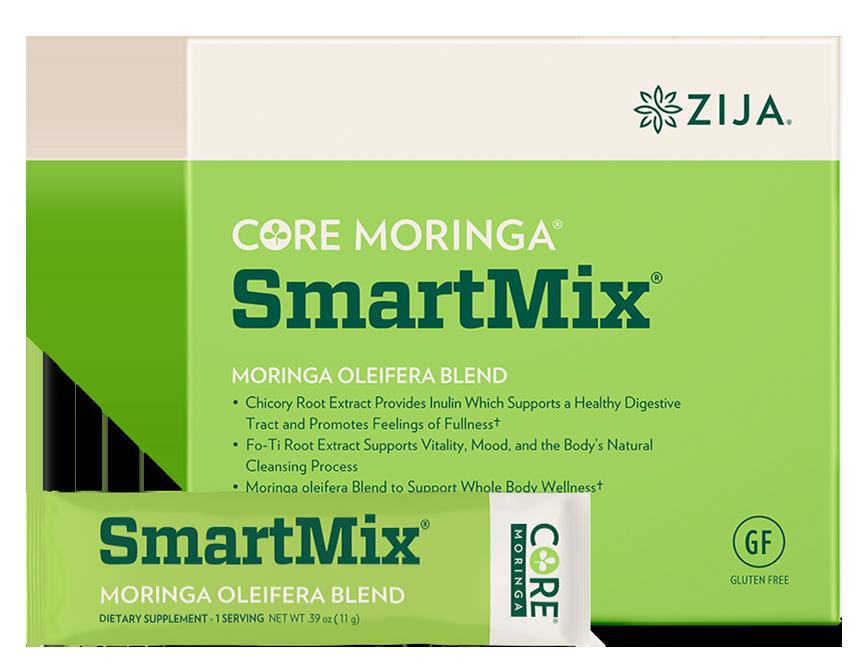 zija core moringa smartmix prebiotic moringa oleifera chicory root foti root mix